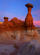 Rimrock Photos - Toadstool Dusk by Mike  Dawson