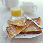 Toast Prints - Toast And Marmalade Print by David Munns