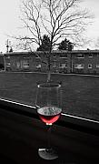 Wine-glass Posters - Toast to Nature Poster by Mandy Wiltse