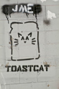 Spray Paint Cans Photos - Toastcat by Luigi Petro