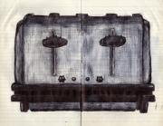 Toaster Print by Mathew Gasparek