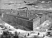 Tobacco Factory, 1876 Print by Granger