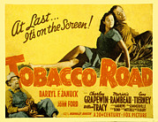 1940s Movies Photo Posters - Tobacco Road, Charley Grapewin, Aka Poster by Everett