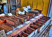Cigars Art - Tobacco Road by Debbi Granruth
