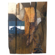 Pittsburgh Mixed Media Originals - Tobacco Trail by V Mann