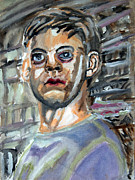 Spiderman Paintings - Tobey Maguire - Spiderman - S01 by John Kelting