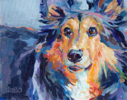 Animal Commission Prints - Toby Print by Kimberly Santini