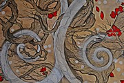 Tree Blossoms Paintings - Today forever detail by Sandro Ramani