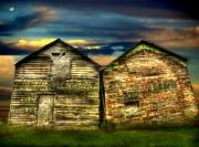Old Barns Framed Prints - Together Until The End Framed Print by Thomas Young