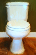 Humor Digital Art - Toilet by Wingsdomain Art and Photography