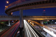 Clear Sky Art - Tokai Jct At Night by Hama