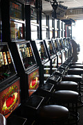 Tokens Framed Prints - Token Slot Machines Framed Print by Susan Stevenson