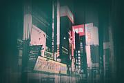 Tokyo Lights Print by Irina  March