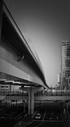 Overpass Framed Prints - Tokyo Overpass Framed Print by Irina  March