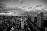 Capital Cities Framed Prints - Tokyo Skyline Framed Print by Benjamin Torode