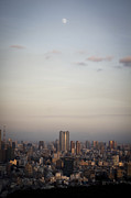 High Tower Framed Prints - Tokyo Skyline Framed Print by Frank Lee