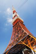 Sightsee Framed Prints - Tokyo Tower Framed Print by Bill Brennan - Printscapes