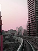 Metropolis Prints - Tokyo Train Ride 6 Print by Irina  March