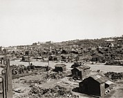 Shanty Prints - Tokyos Shanty Town, Where Post-world Print by Everett