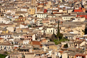 Rooftops Art - Toledo Spain by John Greim