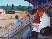 Prescott Paintings - Tom at Prescott Downs by Helen Thomas