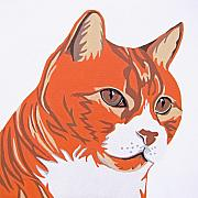 Cat Portraits Prints - Tom Cat Print by Slade Roberts