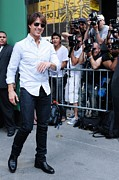 Celebrity Candids - Monday Framed Prints - Tom Cruise, Visits Good Morning America Framed Print by Everett
