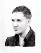 Hardy Drawings - Tom Hardy by Rosalinda Markle