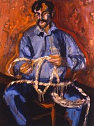 Ranchers Paintings - Tom Horn by Les Leffingwell
