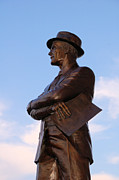 Statues Framed Prints - Tom Landry Framed Print by Amanda Starr