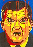 Iraq Paintings - Tom Ridge by Dennis McCann