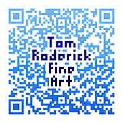 Tom Roderick - Tom Roderick Fine Art - QR code