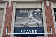 New York Mets Stadium Digital Art Posters - Tom Seaver 41 Poster by Rob Hans