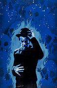 Spraypaint Painting Prints - Tom Waits Print by Iosua Tai Taeoalii