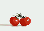 Still Life Digital Art - Tomato Love by Marianne Beukema