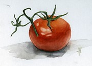 Grande Painting Framed Prints - Tomato Framed Print by Michael Trujillo