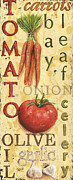 Onion Paintings - Tomato Soup by Debbie DeWitt