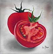 Food And Beverage Paintings - Tomatoes by Ilse Kleyn