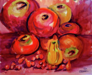 Ron Stephens Framed Prints - Tomatoes Framed Print by Ron Stephens