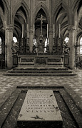 Abbaye Prints - Tomb of William the Conqueror Print by RicardMN Photography