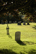 Kingston Prints - TOMBSTONES KINGSTON CEMETERY New Brunswick Print by John  Mitchell