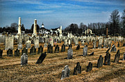 Final Resting Place Metal Prints - Tombstones Metal Print by Paul Ward
