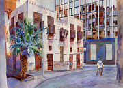 Old Buildings Paintings - Tomorrows World by Dorothy Boyer