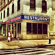 Food And Beverage Art - Toms Restaurant. #seinfeld by Luke Kingma