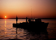 Photographic Art Photo Posters - Tongers Sunrise Poster by Skip Willits