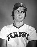 Baseball Cap Prints - Tony Conigliaro (1945-1990) Print by Granger