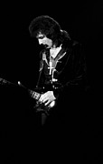 Concert Photos Art - Tony Iommi on Guitar by Ben Upham