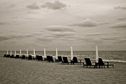 Lounge Photo Originals - Too Cold to Swim by Leona Mozes