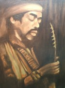 Jimmy Hendrix Paintings - Too Soon by LaBadie