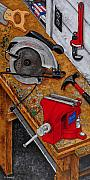 Hammer Paintings - Tool Time by Rich Travis